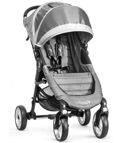 Caruciorul City Mini 4 Steel Gray Sand | BABY JOGGER