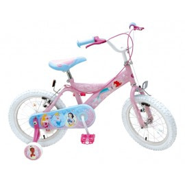 Bicicleta copii Disney Princess 16 inch - Stamp-stamp