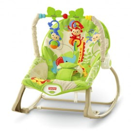 Balansoar 2 in 1 Infant to Toddler Rainforest Friends Fisher Price-Fisher Price