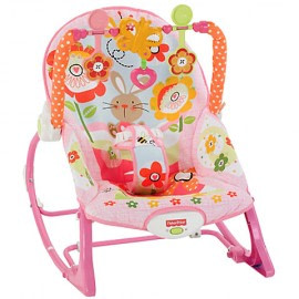 Balansoar 2 in 1 Infant to Todler Pink Fisher Price-Fisher Price