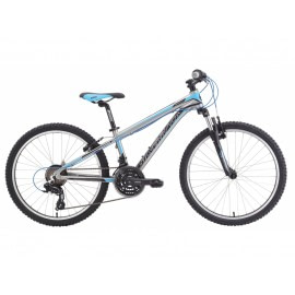 Bicicleta copii Spyke 24 Scuba Bleu Citrus Orange Electric Blue-Silverback