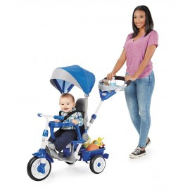 Tricicleta perfect fit 4in1 albastra-Little Tikes