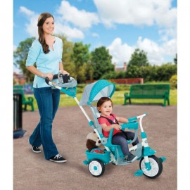 Tricicleta perfect fit 4in1 turcoaz-Little Tikes