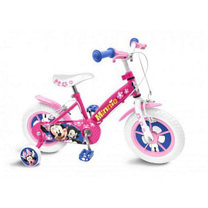 Bicicleta minnie 14-stamp