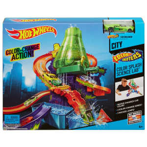 Circuit Hot Wheels Laboratorul Stiintific