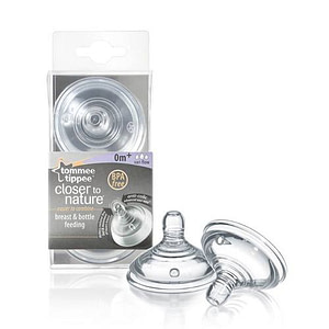 Tetina Closer to Nature FLux Variabil 2 Bucati 0+-Tommee Tippee