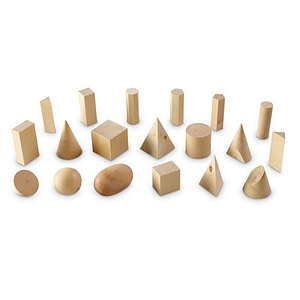 Forme Geometrice din Lemn-Learning Resources