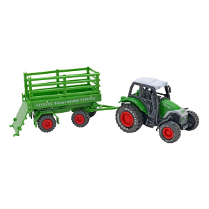 Tractor cu remorca Globo Spidko Farm World