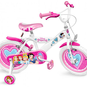 Bicicleta Stamp Disney Princess 16-Stamp