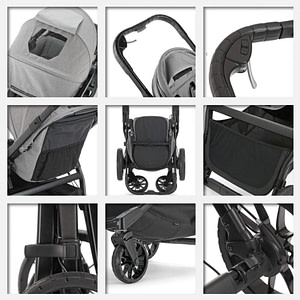 Carucior City Select Lux Slate-BABY JOGGER