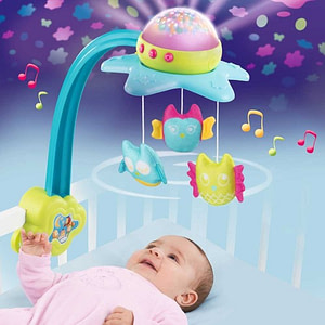 Carusel muzical Smoby Cotoons Star 2 in 1-SMOBY