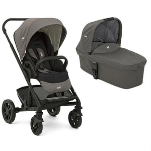 Carucior multifunctional 2 in 1 Chrome Foggy Gray-JOIE