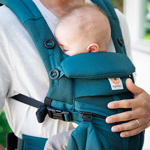 Marsupiu Omni 360 Cool Air Mesh Evergreen-Ergobaby