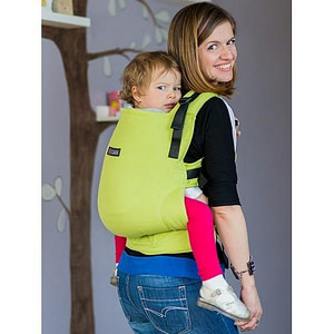 Marsupiu Toddler Wrap Conversion Organic Lime-Isara