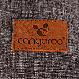 Marsupiu multifunctional multiple pozitii I carry Dark Grey-CANGAROO